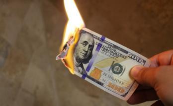 cash burn